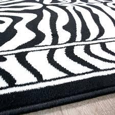 black and white chevron rug black white zebra animal runner rug and chevron