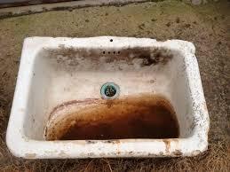 old belfast sink ideal for garden planter or for back kitchen sink