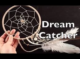 How To Make An Indian Dream Catcher DIY Dreamcatcher How To Make A Dream Catcher Tutorial YouTube 2