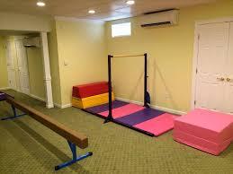 basement ideas for kids area. Area Unique Remodel With A Gymnastics Basement Ideas For Kids