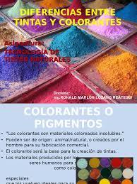 Diferencia Entre Pigmento Y Colorante L Duilawyerlosangeles