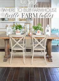 there are a lot of beautiful dining tables out there but i worked hard to stay focused on trestle style tables like mine i ve gotten a lot of questions
