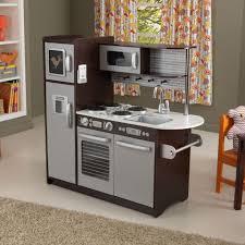 Kidkraft Petal Pink Kitchen Uptown Espresso Play Kitchen