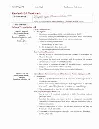 Property Maintenance Resume Sample Awesome Mba Resume Sample Unique