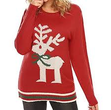 ugly christmas sweater with reindeer 17 Ugly Christmas Sweater Ideas, Styled!