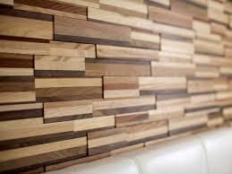 textured wall panels close up