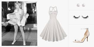 7 ways to diy a marilyn monroe costume this