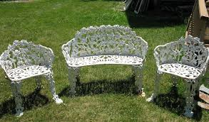 antique wrought iron patio furniture for