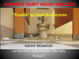 simple gift essay tips author s craft group analysis flushie by neal shusterman