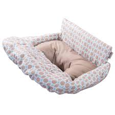 summer infant 2 in 1 cushy cart cover and seat positioner dots and diamonds