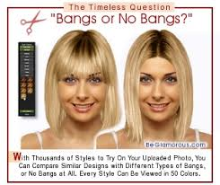 Virtual Bangs Fringe Hairstyles Upload Your Photo Try