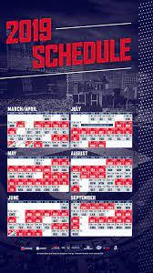 2019 Cleveland Indians Schedule ...