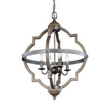 socorro 4 light stardust hall foyer pendant