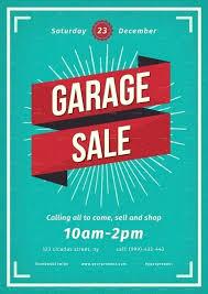 Yard Sale Flyer Garage Sale Flyer Template Neighborhood Yard Sale