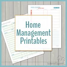 managing home and family can be a bit of a c the home management printables