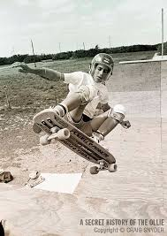 An early photo of Alan Gelfand performing the Ollie Air. (Courtesy Craig  Snyder)
