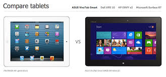 Microsofts New Webpage Shows Windows 8 Tablets Owning The Ipad