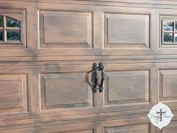 painted wood garage door. Exellent Door Painting Vinyl Garage Doors Prodigal Pieces Faux Wood Door Tutorial  Right Over Those White And Painted Wood Garage Door W