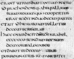 Vers latins de bible