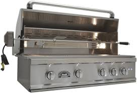 solé gourmet 38 built in natural gas or lp grill