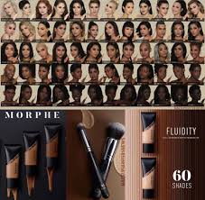 Morphe Foundation Chart New Morphe Fluidity Foundation 60 Shades In 2019
