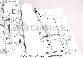 architecture blueprints wallpaper. Architecture Blueprints Architectural Blueprint Rolls And Plans On Desk  Drawings Wallpaper