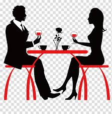 Download this free icon about restaurant table and chairs, and discover more than 10 million professional graphic resources on freepik. Cafe Coffee Cafeteria Drink Restaurant Silhouette Table Conversation Transparent Background Png Clipart Hiclipart