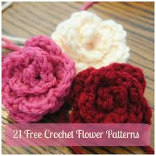 Free Crochet Flower Patterns Custom 48 Crochet Flower Patterns To Make This Spring AllFreeCrochet