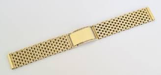 heavy 45g solid 9ct gold mens watch bracelet or strap 230835 heavy 45g solid 9ct gold mens watch bracelet or strap