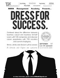 ama presents dress for success ahana management academy of dressforsuccess
