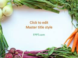 Free Food Powerpoint Templates Free Healthy Food Powerpoint Template Free Powerpoint