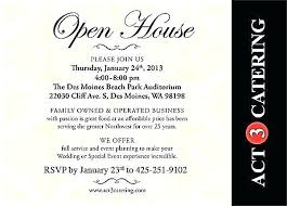 Open House Invite Templates Holiday Invitations Invitation