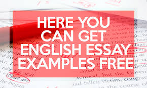 here you can get english essay examples