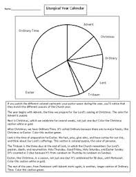 Liturgical Year Worksheets Teaching Resources Tpt