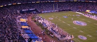 San Diego State Aztecs Football Seating Chart Map Seatgeek
