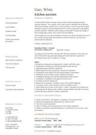 Porter Resume Examples Free Catering Cv Template Samples Catering Jobs Event