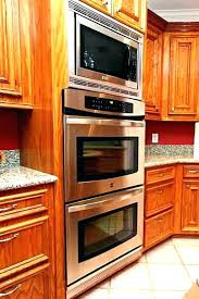 wall oven cabinets for best double wall oven double wall oven with microwave above double wall oven cabinets