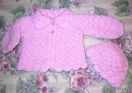 Free Crochet Baby Sweater Patterns New Suzies Stuff SUZIE'S PRETTY SHELLS BABY SWEATER AND HAT C