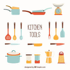 kitchen utensils vector. Kitchen Tools Collection Free Vector Utensils S