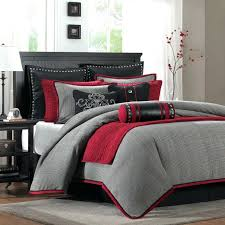 red and white bedding set bed quilt sets queen gray black sheets