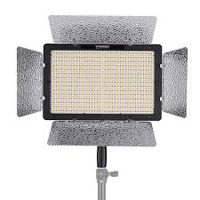 yongnuo yn1200 pro led light 5500k photography and recording fill light w 2pcs ct filters remote controller adjule brightness cri 95