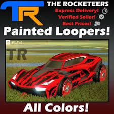 ps4 psn rocket league all painted