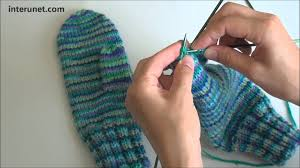 Easy Mitten Knitting Pattern