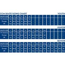 Ccm Ice Skate Size Chart Details About Ccm Ribcor 42k Pump Junior Ice Hockey Skates