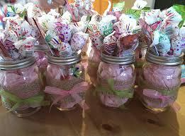 Mason Jar Decorations Mason Jars Baby Shower Center Pieces Baby Girls