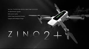 Flycam Hubsan Zino 2+ Plus - Camera 4K, gimbal 3 trục, bay 43 phút