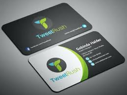 Social Media Business Card Template Vertical Free Cards
