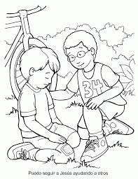 Small Picture Parable Of The Good Samaritan For Kids Coloring Home