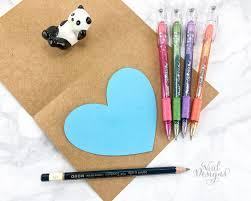 mother s day diy card supplies sparkle pop metallic pens