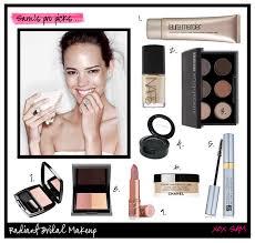 bridal makeup tutorial image